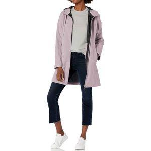 Calvin Klein Purple Zip Front Softshell Jacket